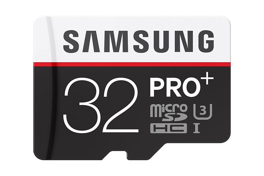 32 GB microSD Karta PRO Plus Samsung + USB adaptér