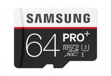 64 GB microSD Karta PRO Plus Samsung + USB adaptér
