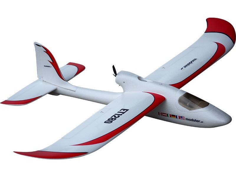 RC letadlo 1290 mm se střídavým motorem set Mod 2