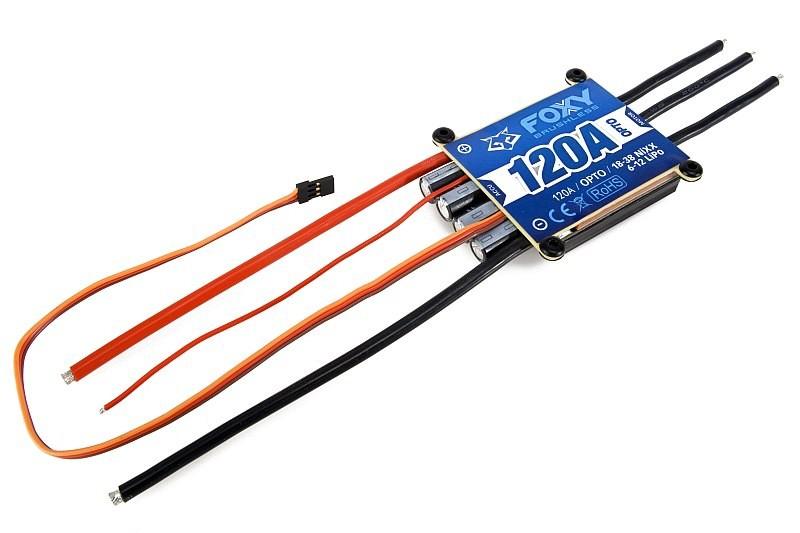 FOXY XR-120 OPTO HV střídavý regulátor 120A air/heli