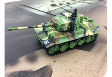 RC tank, RC mini tank Tiger se zvuk. modulem, zelený