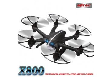 Hexakoptéra X800 3G ovládání + FPV HD kamera C4016 - ČERNÁ