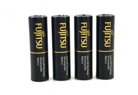 Fujitsu Black R06/AA 2450mAh 500 dobíjecích cyklů - 4ks