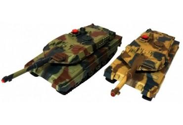Velké soubojové tanky na dálkové ovládání
