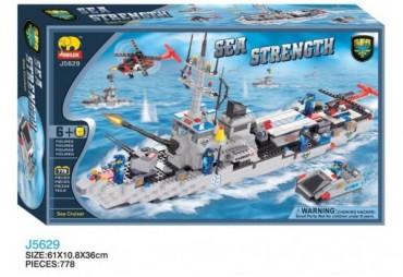 Bojový křižník s helikoptérou a člunem , 778 dílků