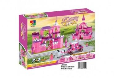 Velký zámek pro princezny, 8 v 1, 1035 dílků