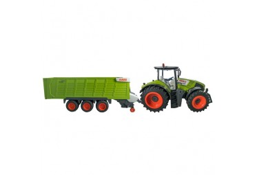 Traktor CLAAS Axion 870 + přívěs Cargos Trailer