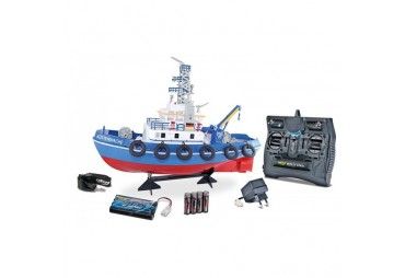 Hasičská RC loď s vodním dělem RTR