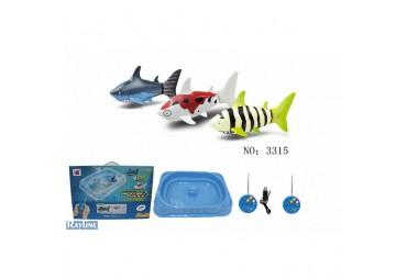 Žraloci na ovládání 2,4 Ghz s bazénkem