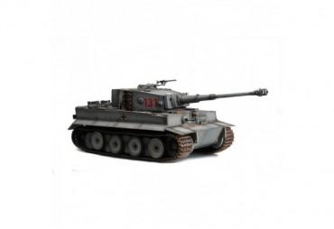 Tank Tiger I 1:16 šedý