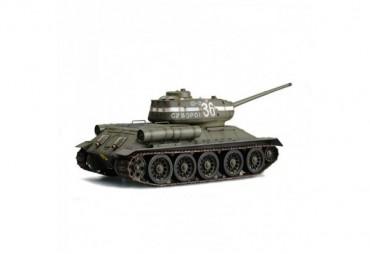 Tank T34/85 1:16 zelený