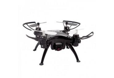 Black HI-TEC DRON NANO WIFI FPV, BAROMETR AUTO START A PŘISTÁNÍ, KOMPAS