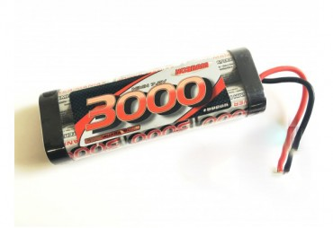 - Nosram-Power pack 3000mAh 7.2V NiMH StickPack