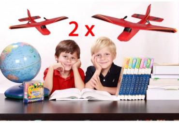 Extra odolné Letadlo 2,4Ghz pro začátečníky s Autopilotem
