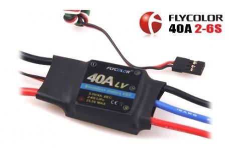 FLYCOLOR 40A ESC BEC 5.5V/4A