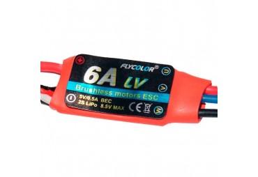 FLYCOLOR 6A ESC BEC 5V/0.5A