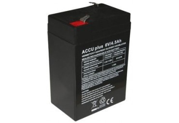 Akumulátor 6V / 4.5Ah - ACCU plus - bezúdržbový olověný