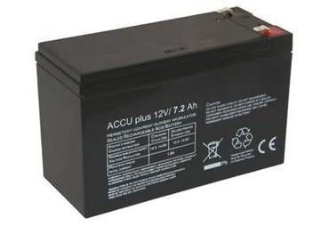 Akumulátor 12V / 7.2Ah - ACCU plus - bezúdržbový olověný