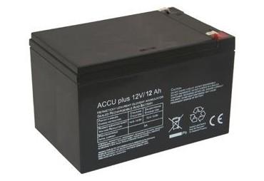 Akumulátor 12V / 12Ah - ACCU plus - bezúdržbový olověný
