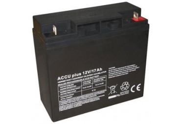 Akumulátor 12V / 17Ah - ACCU plus - bezúdržbový olověný
