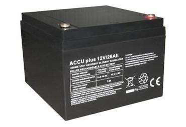 Akumulátor 12V / 26Ah - ACCU plus - bezúdržbový olověný