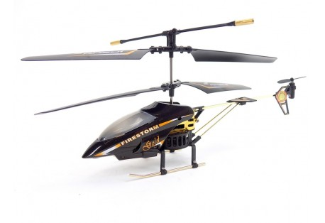RC vrtulník, Firestorm Gold specielně na zakázku
