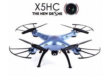Dron Syma X5HC, 4CH 2,4 GHz, s barometrickým výškoměrem modrá