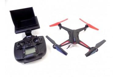 Drony s FPV monitorem
